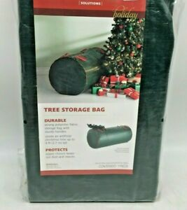"""Real Simple Holiday Durable Heavy Weight 30""""x60"""" Christmas Tree Storage Bag"""