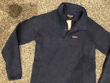 Patagonia Womens Lightweight Better Sweater Marsupial Pullover Stone Blue L New