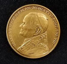 Pope John Paul II/St. Peters Basilica bronze token! 38 mm!
