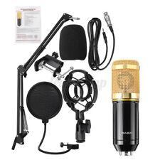 BM-800 Pro Kondensator Microphone Mikrofon Kit Komplett Set für Studio Aufnahm.