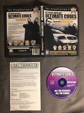 Action Replay Ultimate Codes: The Getaway (Sony PlayStation 2)