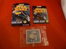 Star Wars (Sega Game Gear, 1993) COMPLETE w/ Box manual game WORKS! Starwars