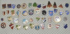 Yugoslavia Football Soccer Club vtg 70s 80s enamel pin badge lot