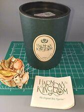 Harmony Kingdom Kitty's Kipper Cat and Seafood Basket Uk Made Box Figurine