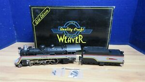 Weaver Santa Fe Valley Flyer 4-6-2 Pacific Brass O Scale 3 Rail 586552R