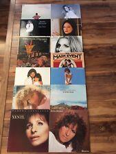 Barbra Streisand 14 LP Lot - Yentl/Superman/Guilty/Memories/People & Others