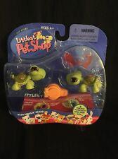 Hasbro LPS Littlest Pet Shop Turtle Twins Pet Pairs # 7 8