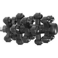 "Bow Jax 1046 X-It Black Rubber Aluminum 4.37"" Archery Hunting Bow Stabilizer"
