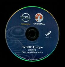 OPEL Europa Europe DVD 800 Astra J Insignia Meriva B 2015 Navi Update Navigation
