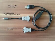 """Combined Megasquirt USB Interface and  MicroSquirt adapter 3/32"""" serial jack"""