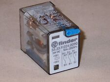 Finder Relay 55.33.9.024.0090  3PDT relay, 24VDC coil  (NIB)