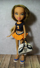 Bratz Doll - Long Brown Hair - Fully Dressed with Shoes, Soccer, Nice Condition!