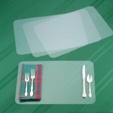 Plastic Placemats Table Mats - Set of 8 - Dining Mats for Kitchen Dinner Table