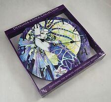 NEMESIS NOW Designer Clock Collection - Blue Moon by Linda Ravenscroft 34cm NEW!