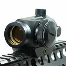 Red Green Dot Sight Scope Holographic 20mm Mount Hunting Airsoft Tactical Metal