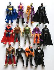 4pcs RANDOM DC BATMAN SUPERMAN Justice League Super Hero Auction Figures ZX322