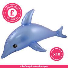 X10 GONFIABILE DELFINO 53cm Pinata Sealife Loot partybirthday Borsa Filler