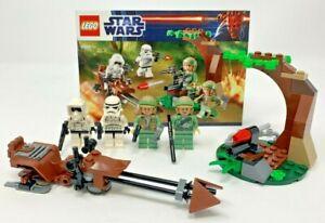LEGO Star Wars - ENDOR Rebel & Imperial Trooper Battle Pack #9489 - Complete!!