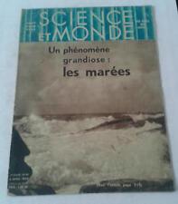 JDN SCIENCE ET MONDE n°99 - Les marées-marine guerre croiseur 6/4/1933 -