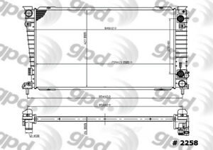 Radiator Global 2258C