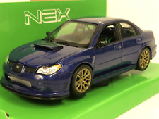 Subaru Impreza Performance Blu / Argento/nero 1 24 Welly