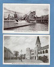 4 Hungarian Exhibition Earls Court London pcs Gale & Polden U955