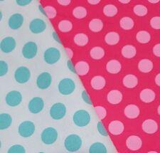 N.2 PZ - 50cm x 50 cotone Michael Miller Fat quarter stoffa pois quilt patchwork