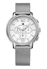 Tommy Hilfiger Armbanduhren mit Edelstahl-Armband und 50m (5 ATM) für Erwachsene