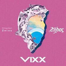 VIXX [ZELOS 5th Single Album] CD + Photo Book + Photo Card K-POP SEALED