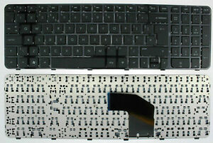 Replacement HP PAVILION G6-2000 699497-031 697452-031 Laptop Keyboard + Frame UK