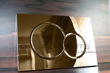 Geberit Sigma 01 Gold 24 Karat Drückerplatte Betätigungsplatte Badezimmer Edel