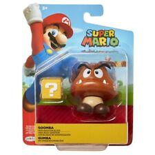 Super Mario 4 in (environ 10.16 cm) Scale Figure-Goomba avec Question Block