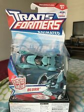 Transformers ANIMATED Deluxe BLURR MOC 2009 Complete