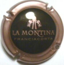 CAPSULA SPUMANTE La Montina rosa metallizzato e nero (2145)