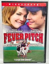 Fever Pitch (DVD, 2005) Widescreen, Drew Barrymore, Jimmy Fallon