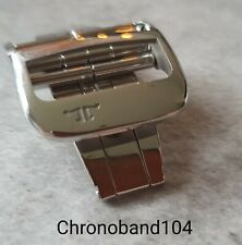 Genuine OEM Jaeger-LeCoultre 20mm Polished Stainless Steel Deployment Clasp