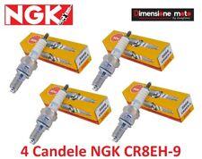 5666 - 4 Candele NGK CR8EH-9 per HONDA X11 1100 Xeleven dal 1999 >2001