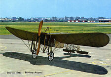 Postcard 223 - Plane/Aviation Bleriot 1909 Motore Anzani