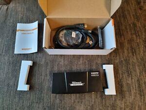 TESmart 2x HDMI KVM Switch, 4K Ultra HD with 3840 x 2160 at 60 Hz 4:4:4; 2 PCs
