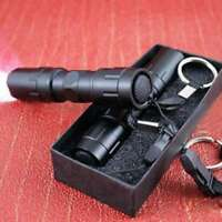 LED 8000 Lumens Lamp Clip Mini Penlight Flashlight Torch Nightlight AAA Outdoor