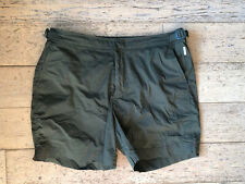 New ListingOrlebar Brown Bulldog Sport Swim Shorts - Military Green - 32