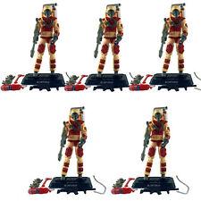 Lot of 5pcs GI Joe action figure Pursuit of Cobra Blowtorch Flamethrower