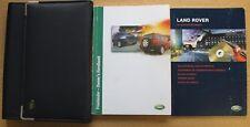 LAND ROVER FREELANDER HANDBOOK OWNERS MANUAL WALLET 1997-2003 PACK 11328