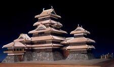 Woody JOE Wooden Japanese Building Model Kit 1/150 Matsumoto Castle Brand New
