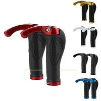 1Pair Ergon Bar End Handlebar Grips Lock-On Bicycle Mountain Bike MTB Ergonomic