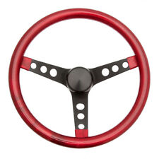 GRANT Steering Wheel Mtl Flake Red/Spoke Blk 15 P/N - 8475