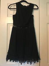 Blue Rain Francesca s size small womens black sleeveless dress 9ee21b9d2