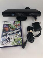 Microsoft Xbox 360 Kinect Camera Motion Sensor Model 1414 with AC Adapter & Gsme