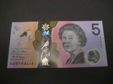 AUSTRALIA - $5 NEW & LATEST POLYMER ISSUE - 2016 SERIAL NUMBER UNCIRCULATED