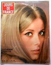 ►JDF 588/1966-CATHERINE DENEUVE-LINE RENAUD-MICHELE MERCIER-DANY SAVAL-SORAYA...